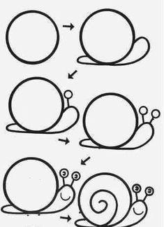 Art Sketchbook Easy Step By Step Easy Flower Drawings, Easy Drawings For Kids, Butterfly Drawing, Pencil Art Drawings, Doodle Drawings, Cute Drawings, Doodle Art, Art For Kids, Drawing Lessons For Kids