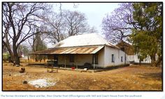 A description of the old Meikles Hotel, the Mill and Coach House and Coaching Stables and Strickland's Store on Marshbrook Farm (now Charter Estates) in Charter District (PART 3) | Zimbabwe Field Guide