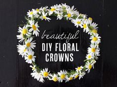 8 beautiful DIY floral crown tutorials from Babble.com
