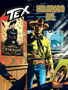 """""""Teks"""" #38 već je na svim kioscima! Scenario: Mauro BoselliCrtež: Alfonso Font"""