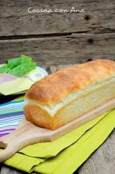 Cocina con Ana: PAN DE MOLDE CON THERMOMIX Y TRADICIONAL