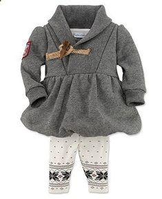 Ralph Lauren Baby Set, Baby Girls 2-Piece Hoodie and Pants - Kids Baby Girl (0-24 months) - Macy's