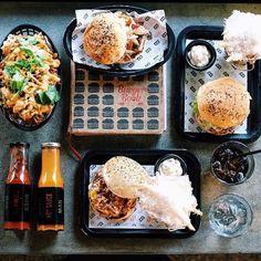 In ya belly @bossmanbali for the best burgers and fries in Seminyak town, hands down! @bossmanbali - bossman burgers, seminyak, bali