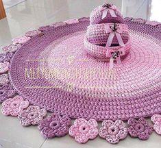 How to Crochet: texturierter Wellenstich - Afghans Crochet Crochet Carpet, Crochet Ripple, Crochet Basket Pattern, Crochet Quilt, Granny Square Crochet Pattern, Crochet Home, Crochet For Kids, Crochet Crafts, Crochet Projects