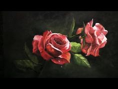 Paint with Kevin Hill - Red Roses - YouTube