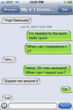 funny auto-correct texts - Friends