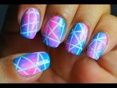 Unhas Decoradas Galaxia Pink! - YouTube