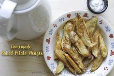 Homemade Baked Potato Wedges - Live Laugh Love Post