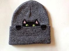 Hats are cool - hats with cats - super cool Zooey Deschanel, Quirky Fashion, Hipster, Cool Hats, Crazy Cat Lady, Kawaii, Diy Clothes, Taylor Swift, Knit Crochet
