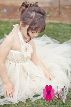 a75996289 Ivory and Gold Woven Flower Girl Dress by jujustutus on Etsy, $140.00 Rings  For Girls