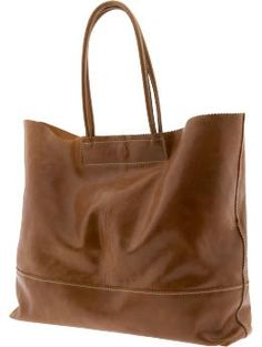 Leather Market Tote from Banana Republic