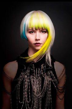 Naha 2014 Haircolor Finalist Loretta Tom of Vancouver; Photog: Matthew Burditt