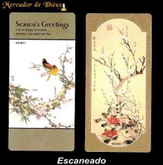 Dois Marcadores De Livro – Bookmark Season's 06. Frete Grátis - Carta Registrada