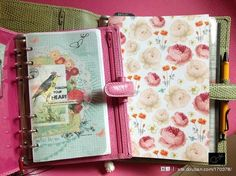 Filofax Personal & A5 with personalized inserts.