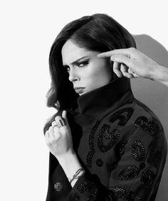 Coco Rocha eye makeup inspiraysh