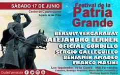 Ya se palpita el Festival de la Patria Grande: El octavo festival de la Patria Grande 2017 se realizará el sábado 17 de junio, en el marco…