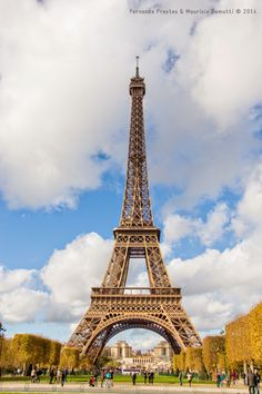 Querida Torre Eiffell, breve te visitarei!