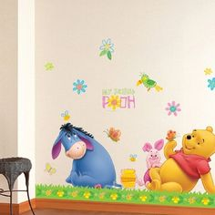 Everyone in your class likes Winnie the Pooh Donkey Wall Stickers.
