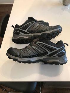 75581a9e2f0 Salomon Men s X Ultra 3 GTX Waterproof Hiking Trail Shoes Black Size 11.5   fashion