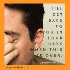 #migrainessuck #migraine #migraineagain #chronicmigraine #headache #pain #hope