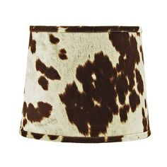 Union Rustic This Faux Cowhide Drum Lamp Shade is perfect for anyone who is looking for a unique lampshade. This is made from a cotton fabric not leather. Western Lamps, Western Bedroom Decor, Spider Lamp, Rectangular Lamp Shades, Cow Hide, Dream Home Design, Ranch Style, Drum Shade, Lampshades