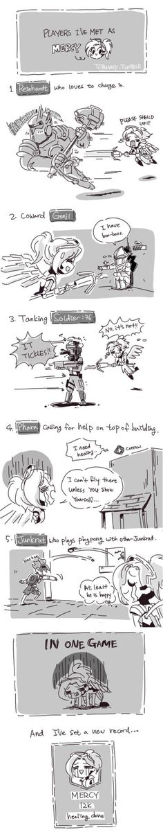 The Life of a Healer in Overwatch.   #lol #rofl #funny #memes