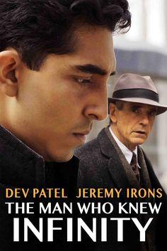 The Man Who Knew Infinity Movie Poster - Dev Patel, Jeremy Irons, Devika Bhise  #TheManWhoKnewInfinity, #DevPatel, #JeremyIrons, #DevikaBhise, #MattBrown, #Drama, #Art, #Film, #Movie, #Poster
