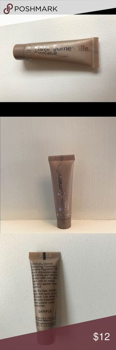 Kate Somerville CytoCell Dermal Energizing Trtment ⭐️NWOT⭐️ Kate Somerville CytoCell Dermal Energizing Treatment, sealed in original packaging.This Treatment is designed to combat visible signs of aging, resulting in a rejuvenated complexion.Peptide P-199 is formulated to reactivate and re-energize and help improve appearance of fine lines and wrinkles.Shea butter, Vitamin E, and Soy Lipids moisturizer skin and provide hydration.This is a great travel size product at .16 fl oz.  great way to…