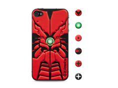 id America Cushi Robot iPhone 4S - Type R #danimobile