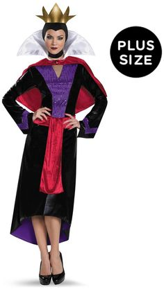 f521920a2930 Brilliant Disney Evil Queen Deluxe Adult Costume Plus. Elegent Collection  of Evil Queen Costumes for