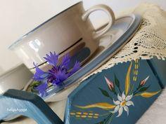 Arabia Finland Uhtua vintage ceramic tea cup, 1980s. Inkeri Leivo beautiful design 🌿💙🌸☕🌸☕🌸💙🌿 #Arabia_Finland_Uhtua #arabiafinland… Vintage Ceramic, Finland, 1980s, Tea Cups, Ceramics, Tableware, Beautiful, Instagram, Design