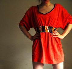 Diy+Couture+Tshirt+Dress+#howto+#tutorial