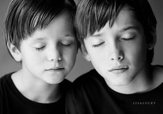 by lisa lucky    love the closed eyes.  makes me want another boy.  three might be ok.