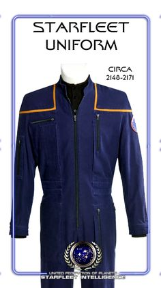 STARFLEET INTELLIGENCE FILE: Starfleet Uniform; Circa 2148 - 2171; Star Trek: Enterprise