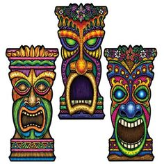 Share CoolGlow with you Friends and Receive 5% on your order.  Tiki Cutouts 22 #http://pinterest.com/coolglow/