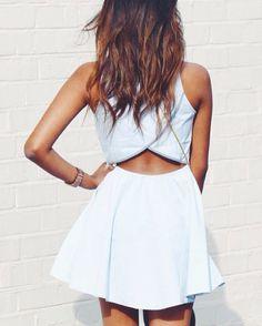 cross back dresses