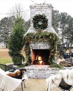 40+ Rustic Outdoor Fireplace Design Ideas To Try Asap   Have you been thinking about adding an outdoor fireplace to liven up your home? You're not alone as these types of fireplace designs are becoming more...