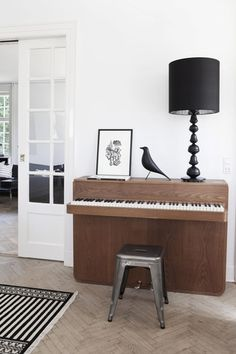 Vintage Details in a Danish Home