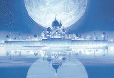 The Moon Kingdom Castle (ANIME) by Moon-Shadow-1985.deviantart.com on @deviantART
