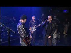 U2 - Beautiful Day Live on Letterman