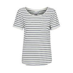 Total Eclipse Stripe T Shirt by Ichi. Eclipse T Shirt, Total Eclipse, Metallic Thread, Friend Wedding, Party Wear, Dressing, Feminine, Casual, Silver