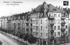 Borsbergstrasse, historische Fotografien