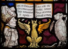 Alice Window. All Saints' Church, Daresbury, Cheshire