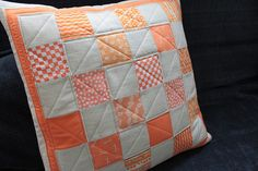 pillow for a teacher who likes orange | Flickr - Photo Sharing!