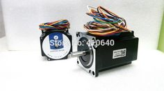 54.66$  Watch more here - Free Shipping GENUINE Leadshine 57HS22 57HS22-A2-Phase NEMA23 Stepper Motor 1.5 N.m 4.0 A length 81mm shaft 8 mm   #buyonline
