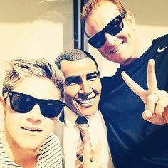 @niallhoran: @calaurand , mr president and I are celebrating 4th of July together ! Yeeeehhaaa! #happy4thofjulyamerica