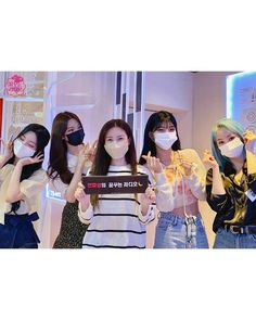 Girls Together, Woollim Entertainment, Kpop Girls, Girl Group, Instagram, Punch, Face, Wave, The Face