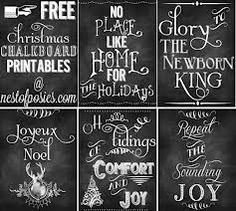 christmas chalkboard - Google Search