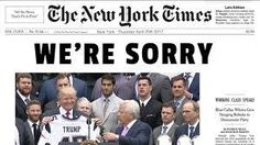 NYT Quietly Corrects Major Falsehood They Helped Spread on Russia Investigation - https://www.hagmannreport.com/from-the-wires/politics/nyt-quietly-corrects-major-falsehood-they-helped-spread-on-russia-investigation/