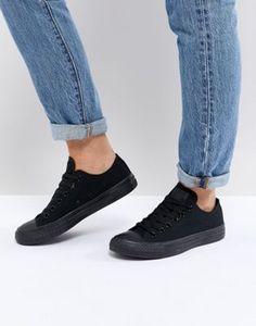 Converse Chuck Taylor All Star core black mono sneakers Vans Suede 5fd462d8e1